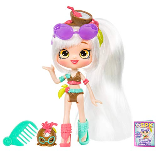 "5"" Shoppie Doll with Matching Shopkin & Accessories, Kokonut"