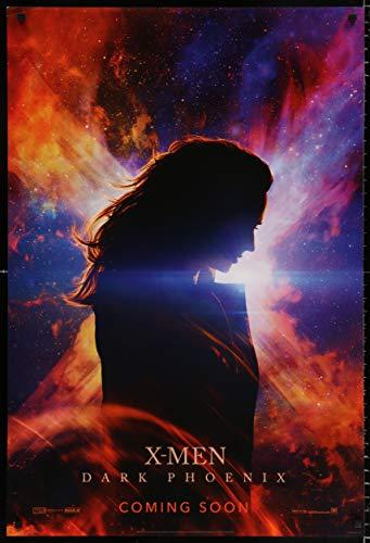 Dark Phoenix Theatrical Movie Poster 2019 Marvel X-Men Extended Universe