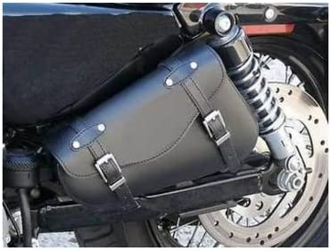 ALFORJA DE CUERO PARA HARLEY SPORTSTER XL 883 1200 CUSTOM ROADSTER NIGHTSTER FORTY EIGHT SEVENTY TWO LOW SPORTBolso de Herramientas Triangular para Motocicleta Harley-Davidson Sportster 883 XL883 IRON