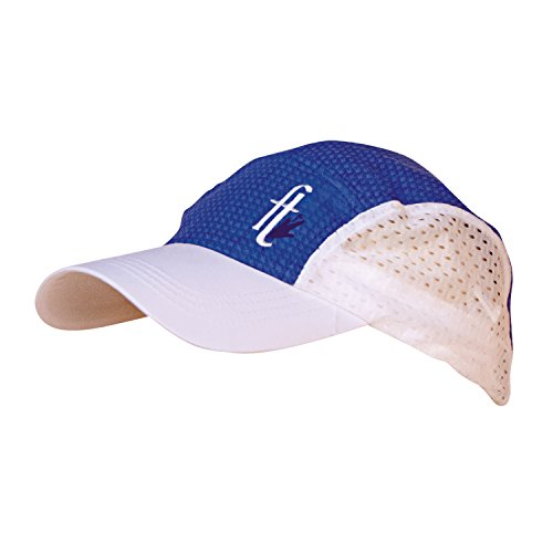 Frogg Toggs Chilly Bean Cooling Hat, Varsity Blue and White