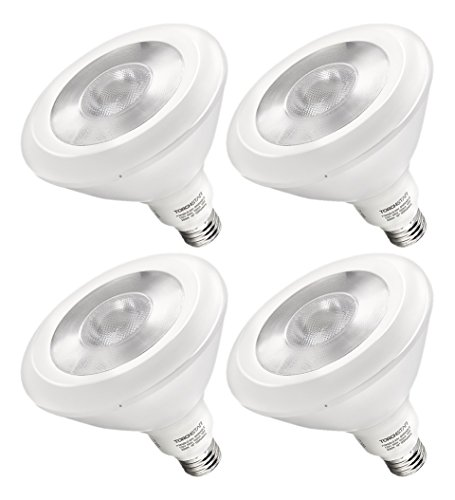 4pcs Pack 18W Dimmable PAR38 LED Bulb - 100W Equivalent UL-listed LED PAR38 Light Bulb - Warm White 3000K 1250LM 40 Degree Beam Angle for Stage, Scene, Event, Residential, Commercial, General Lighting