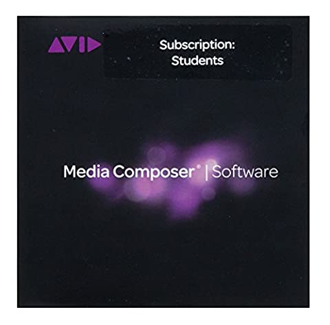 Avid Media Composer 8 Educational Software Annual Subscription for Student, Download (Educational Software)
