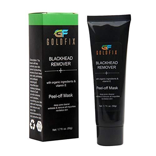 GOLDFIX Blackhead Remover Peel-Off Facial Mask, Deep
