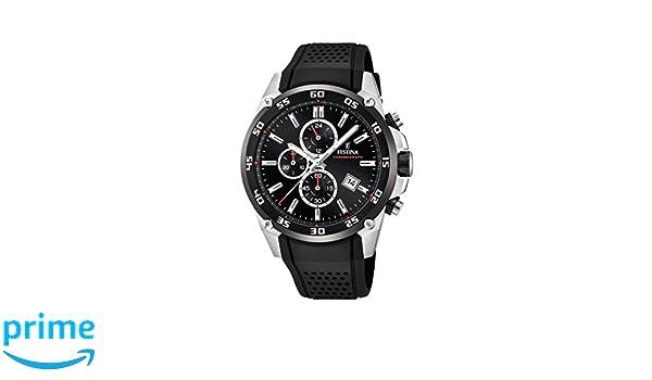 Amazon.com: Festina Chrono Sport F20330/5 The Originals Black watch: Watches
