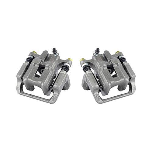 CKOE01007 [ 2 ] REAR Premium Grade OE Semi-Loaded Caliper Assembly Pair Set