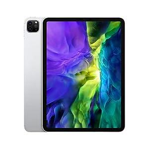 2020 Apple iPad Pro (11-inch, Wi-Fi + Cellular, 128GB) – Silver (2nd Generation)