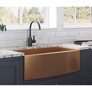 410uZNThv7L._SS300_ Copper Farmhouse Sinks & Copper Apron Sinks