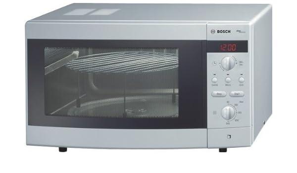 Bosch HMT873L Encimera 25L 900W Plata - Microondas (Encimera ...