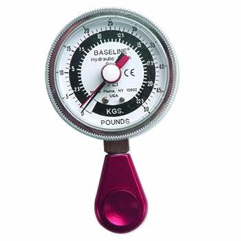 Baseline 12-0226 Pinch Gauge, Hydraulic, LiTe, 50 lb Capacity