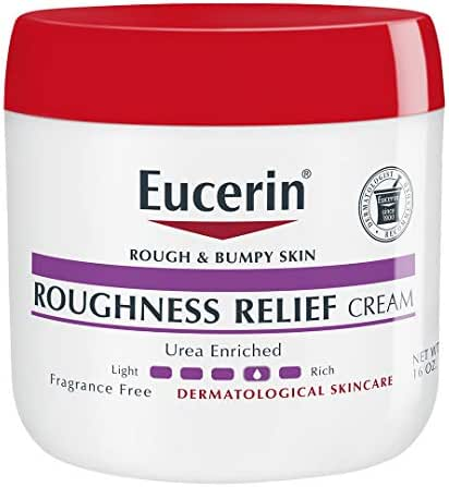 Body Lotions: Eucerin Roughness Relief Cream