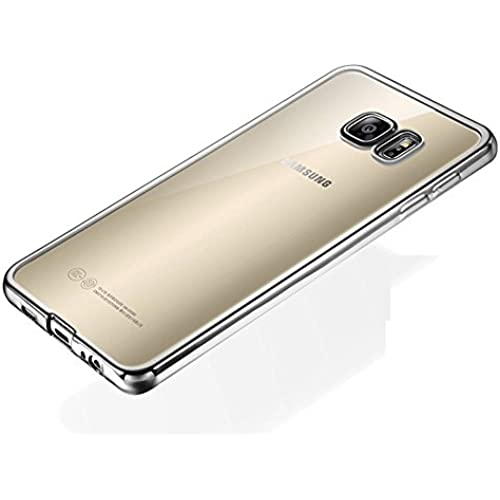 Galaxy S7 Case, G-i-Mall [Clear View] Hybrid Scratch Resistant Back Soft Flexible Cover with Shock Absorbing Silver Sales