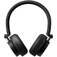 Onkyo H500BTB/27 Hi-Resolution On-Ear Wireless Headphone with Mic, Black