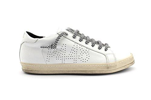 Lcm P448 E7JOHN Size 41 Whi Sneaker SSrZO1qwWt