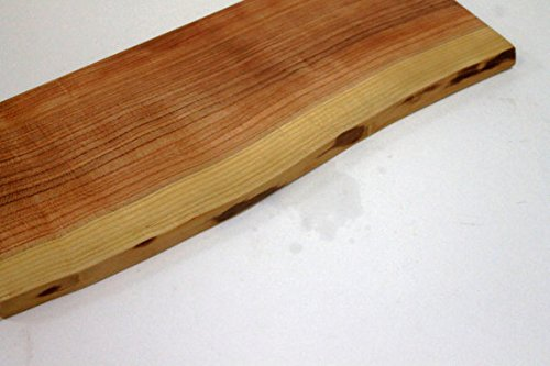 Natural Edge Solid Cherry Wood Cutting Board - Holland Bowl Mill