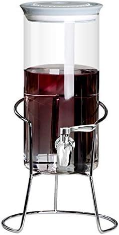 ZCYJL Grifo cocina Botella de jugo máquina de bebida fría con grifo, cerveza de vino bebida fruta enzima botella latas latas selladas Of recemos una gama de Grifos de lavabo,Espero tu visita.