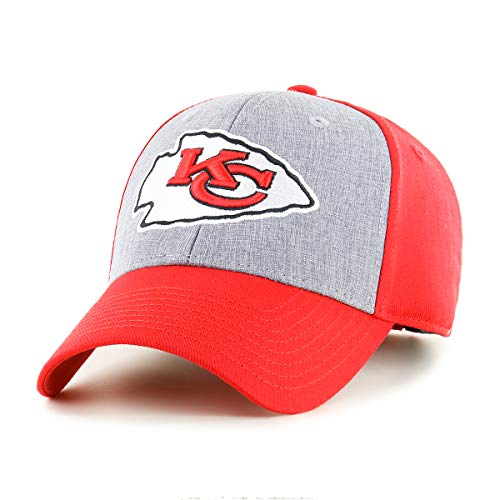 NFL Men's Kansas City Chiefs OTS Essential All-Star Adjustable Hat, One Size, Team Color (Chief Hats)