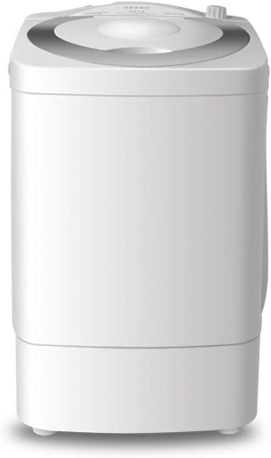 ポータブルでコンパクトな洗濯機回転乾燥機、洗濯能力:1つの半自動ミニ洗濯機で6キロ2操作が簡単、省スペースのアパートホテルの家