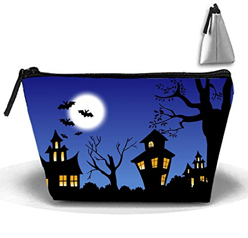 Cosmetic Bags Cool Halloween Portable Travel Toiletry Pouch Clutch Bag with Zipper ()