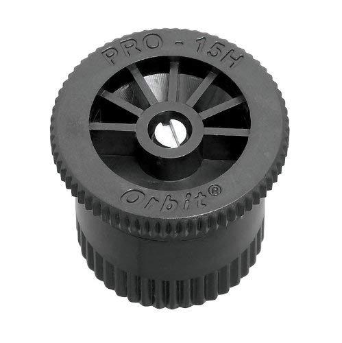 オービット15 ' Halfパターンメスねじポップアップスプリンクラーヘッドノズル53525 ブラック 53525 B00M0UCFRE  5