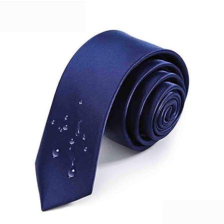 Hjyi Corbata de Vestir para Hombre, Corbata sólida Simple, Corbata ...