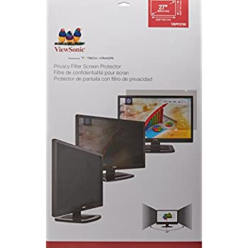 amazoncom viewsonic display privacy filter 27quot wide