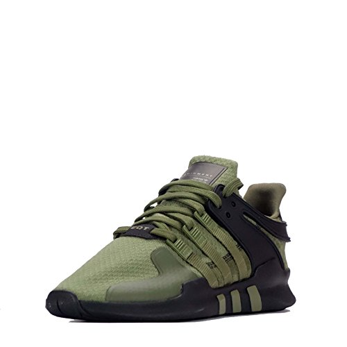 adidas CM7416, Sneaker Uomo Olive Cargo/Black 44 2/3 EU