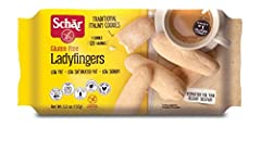Resisting sweetness is impossible, especially with Schär Gluten Free Ladyfingers. These traditional Italian cookies, at only 120 calories per three-cookie serving, are incredibly light and delicate. Soak in coffee and layer on soft mascarpone...