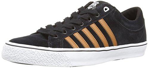 K-Swiss Adcourt La-Sde Vnz M - Zapatillas deportivas para hombre Black (Black/Brown/White)