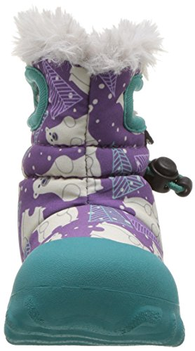 Bogs Girls Baby Bmoc Bears Purple Waterproof Insulated Warm Lined Wellies Boot 721791-UK 3 (EU 20)