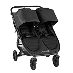 The Baby Jogger City Mini Gt2 double stroller is now in an updated design with Forever air rubber tires and all-wheel suspension for uncompromised agility on any terrain with two. Features include a one-step in-seat fold, adjustable handlebar...