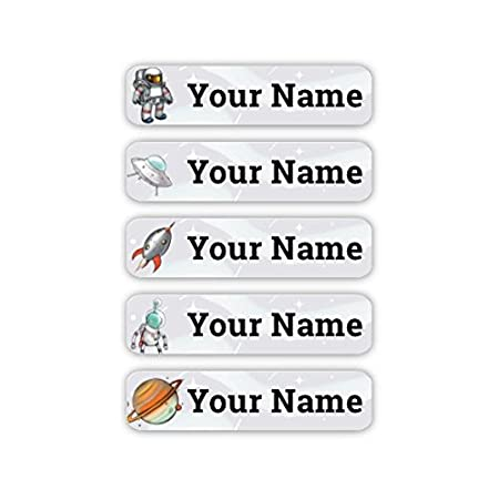 Personalized Laundry Safe Iron-on Clothing Labels (Breeze Theme) Oliver' s Labels