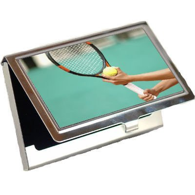 Tennis Business Cards - Tennis Business Card Holder