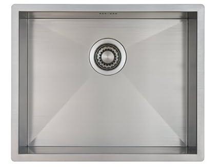 Lavello da cucina in acciaio inossidabile / lavandino MIZZO Quadro ...
