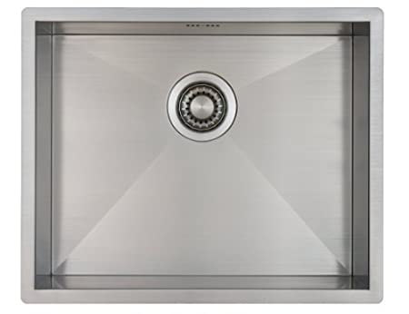 Kitchen Sink Mizzo Design - One/Single Bowl Square Stainless Steel ...