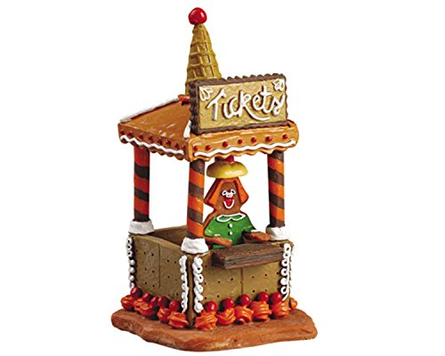 Lemax Halloween Sugar 'N Spice Village Collection Ticket Booth -