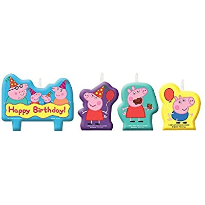 Candle Set | Peppa Pig Collection | Birthday: Toys & Games