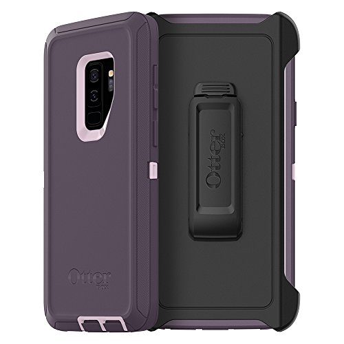 (OtterBox Defender Series Case for Samsung Galaxy S9+ - Frustration Free Packaging - Purple Nebula (Winsome Orchid/Night Purple))