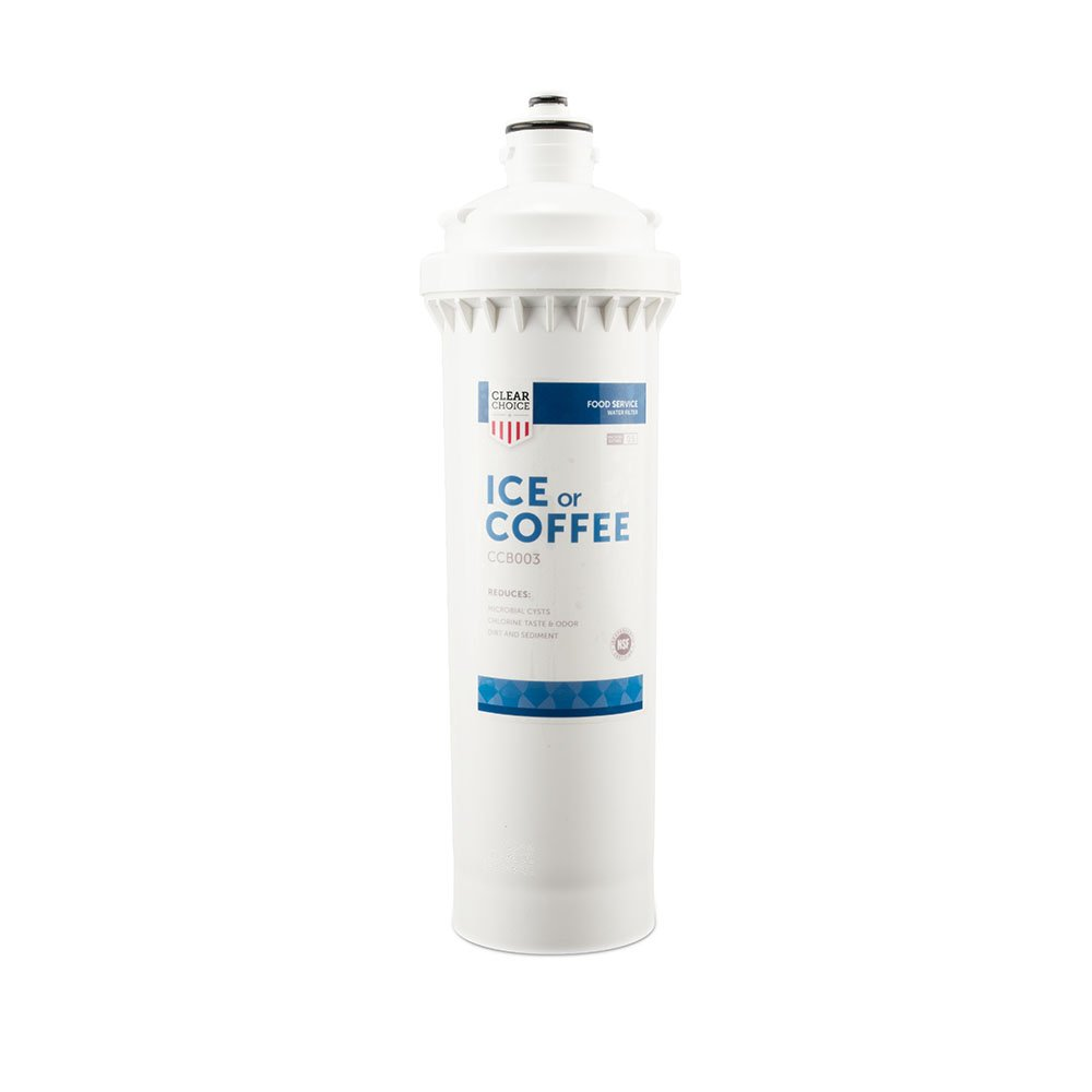 Clear Choice Coffee, Tea Filtration System Replacement Cartridge for Everpure BH2 EV9612-50 Also Compatible with Pentair BH2 EV9612-50, Follett 130245 954297 FL4S, Nu Calgon 4621-12, 1-Pack