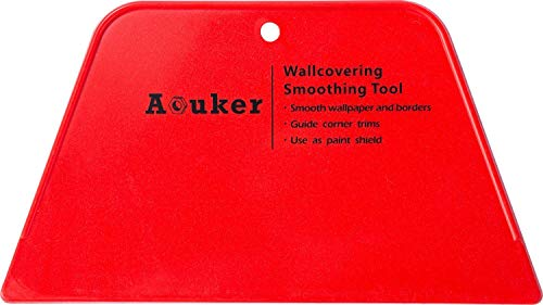 Aouker 8'' Wallpaper Flexible Smoothing Tool, Window Film Smoother (1)