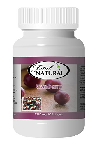 Cranberry 1780mg 90s - [12 bottles] Kidney Care by Total Natural