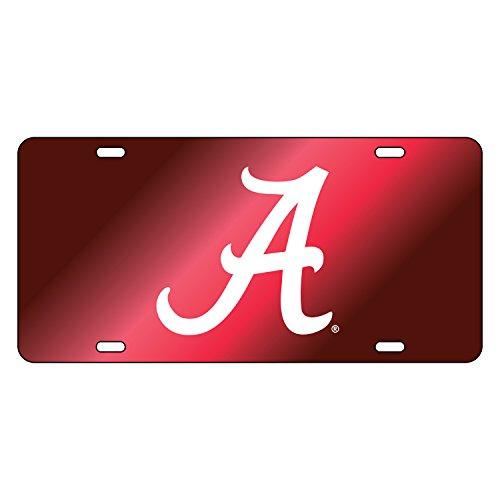 Alabama Crimson Tide Tag CRIM MIR/REF WHT A TAG