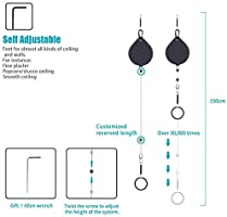 KIWI design VR Cable Managment | Ceiling Pulley System for HTC Vive/Vive  Pro Virtual Reality/Oculus Rift/PS VR/Microsoft MR/Samsung Odyssey VR
