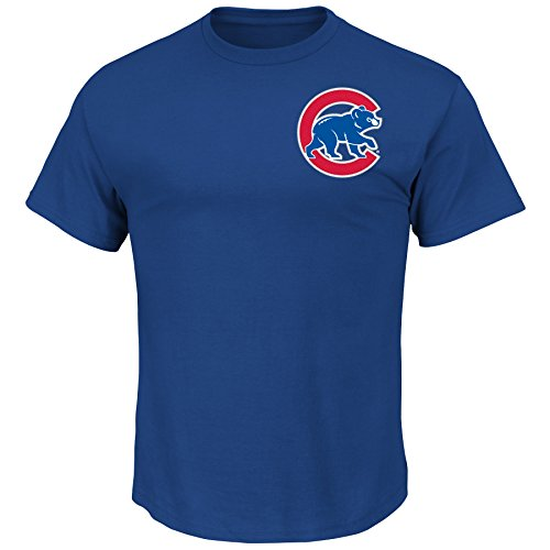 Outerstuff Willson Contreras Chicago Cubs #40 Youth Player Name & Number T-Shirt Blue (Youth X-Large 18)