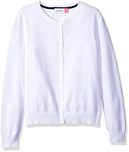 Childrens Place Uniform Cardigan Sweater product image