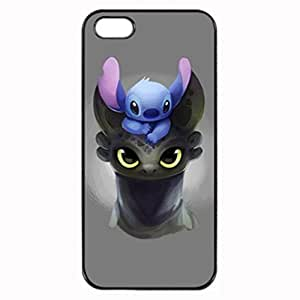 Stitch Toothless Photo Hard iphone 4 4S Case , Fashion Image Case Diy, Personalized Custom Durable Case For iPhone 4 4S WANGJIANG LIMING by patoner