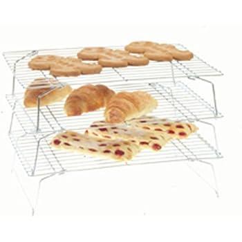 Amazon Com Norpro 3588 3 Tier Stackable Cooling Rack Set