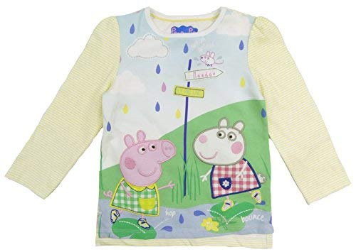 Peppa Pig Suzy Sheep Long Sleeve Summer Top Cotton Toddler Sizes (2-3 Years) for $<!--$11.50-->