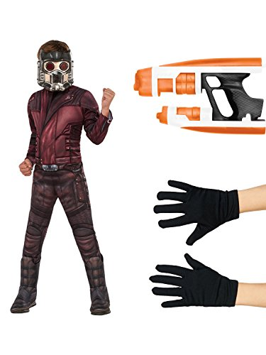Guardians of the Galaxy Vol. 2 - Star-Lord Deluxe Children's Costume Kit L -