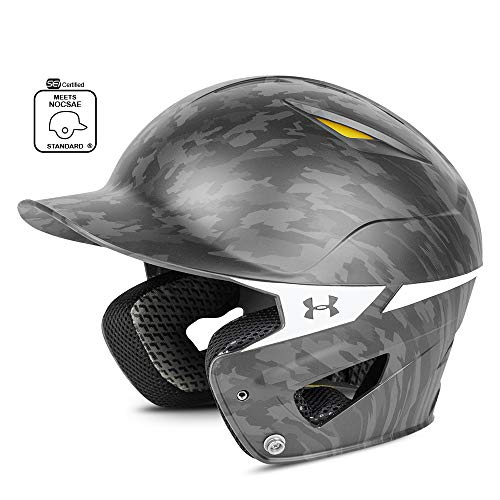 Under Armour Baseball UABH2 150-MP: BK Converge Batter's Digi Camo Helmet, Black, Adult (12+)