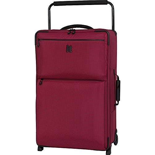 IT Luggage 29.6' World's Lightest Los Angeles 2 Wheel, Persian Red